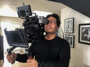 Filmmaker Marcus Shenn.